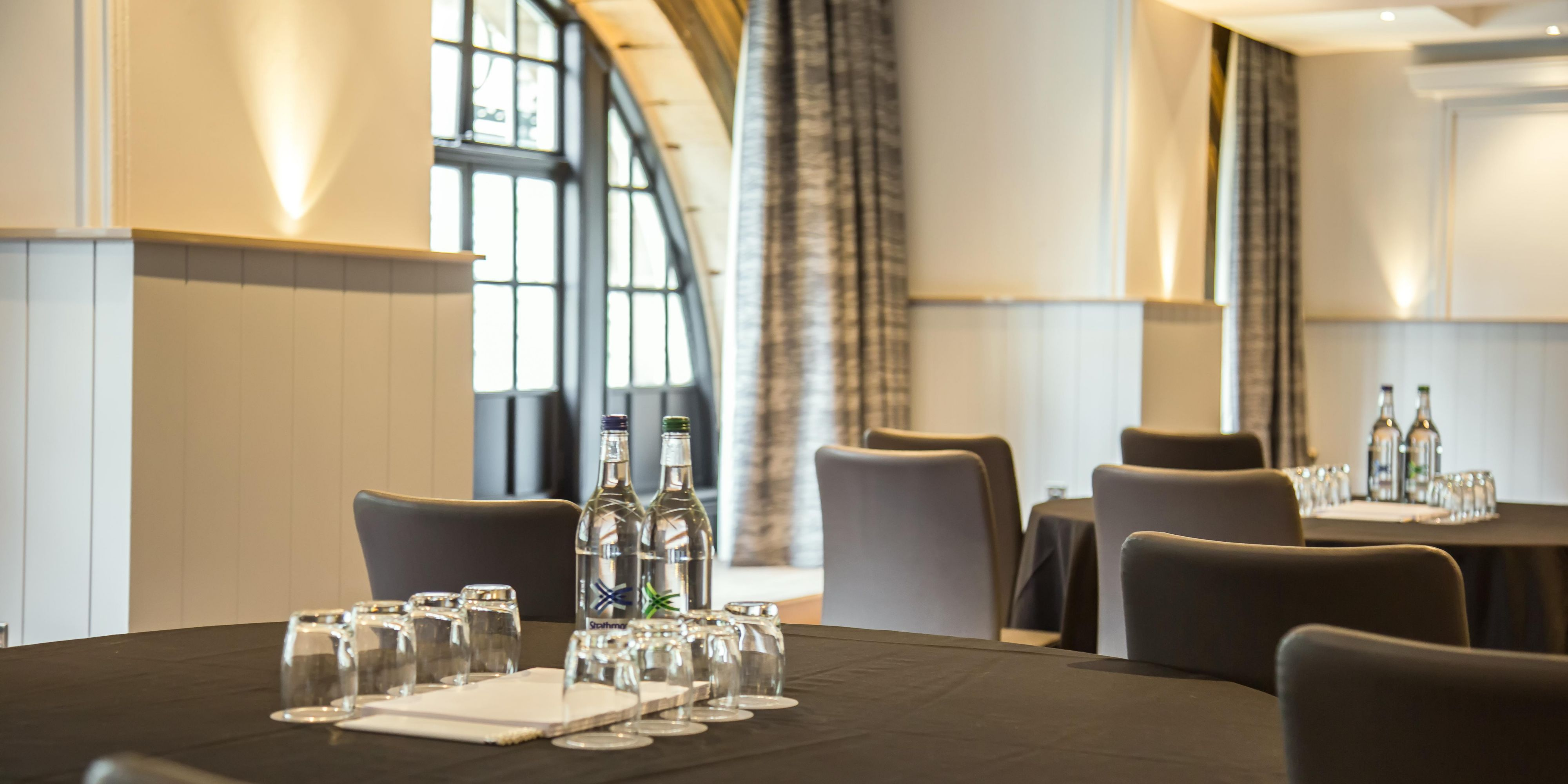 Spacious with natural daylight, the Victoria is ideal for meetings