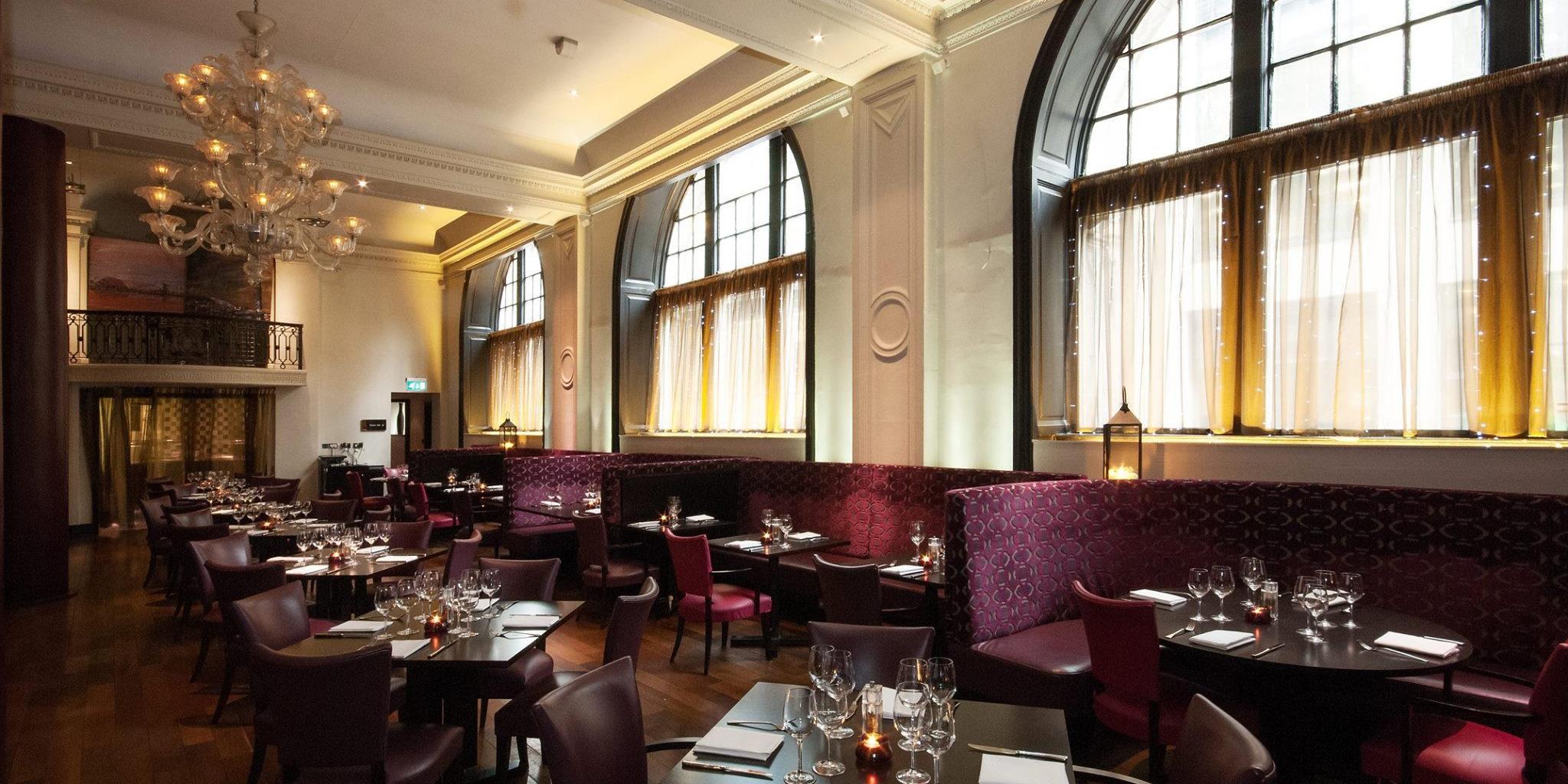 Dine in beautiful surroundings in Tempus restaurant, Grand Central