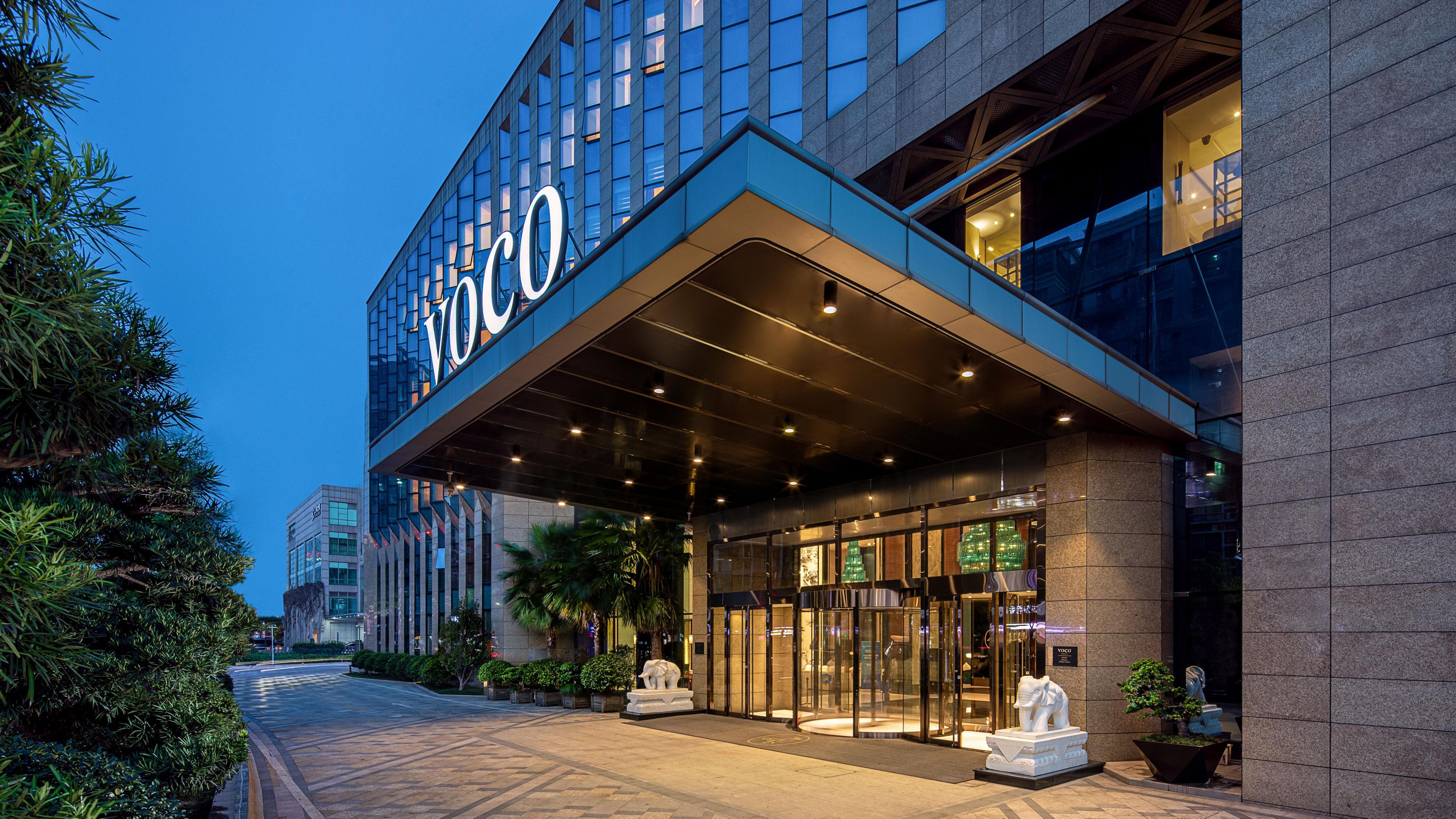 voco Hangzhou Binjiang Minghao Hotel Exterior