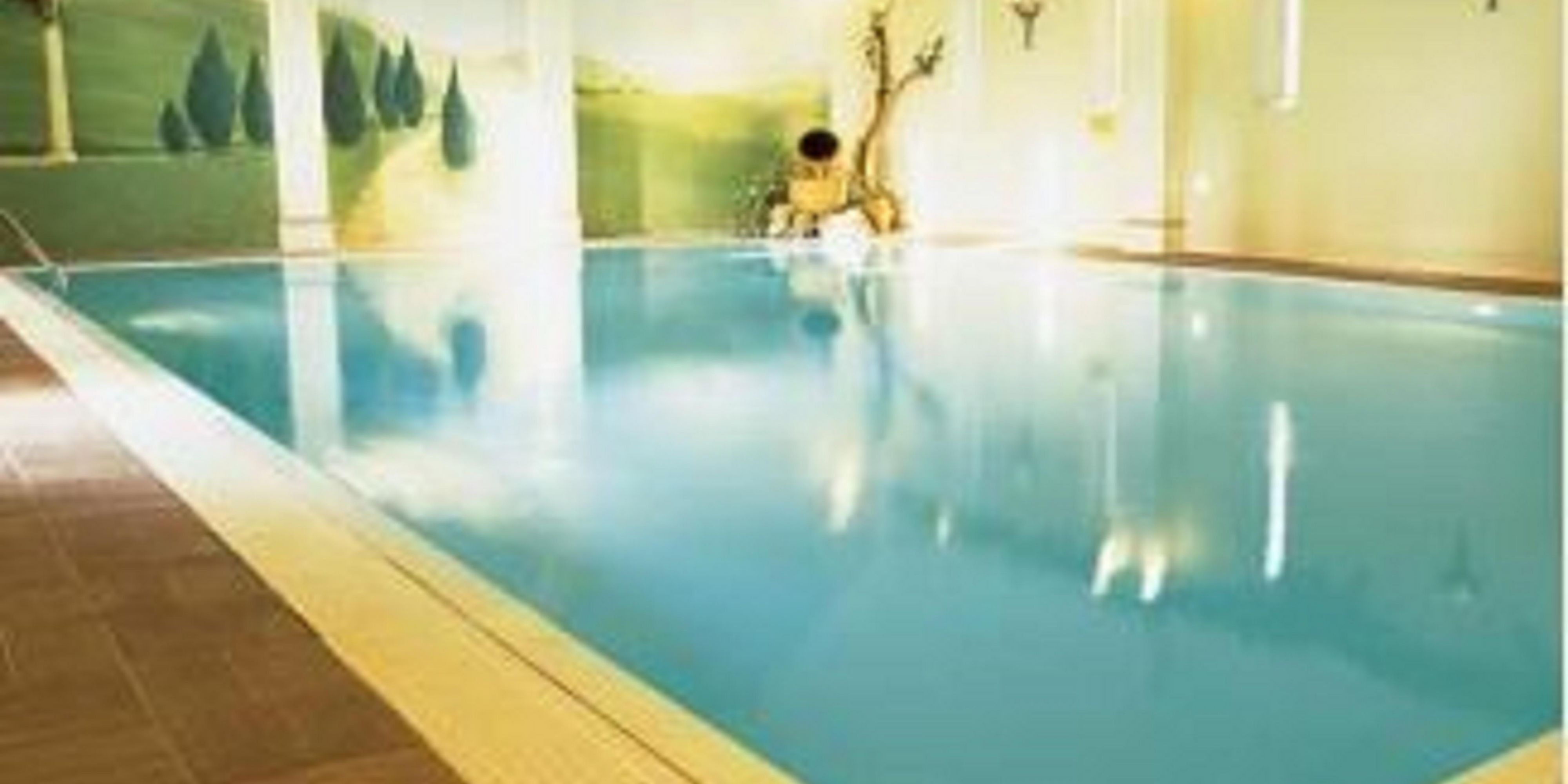 Willows leisure club, go for a swim or work out in the gym,