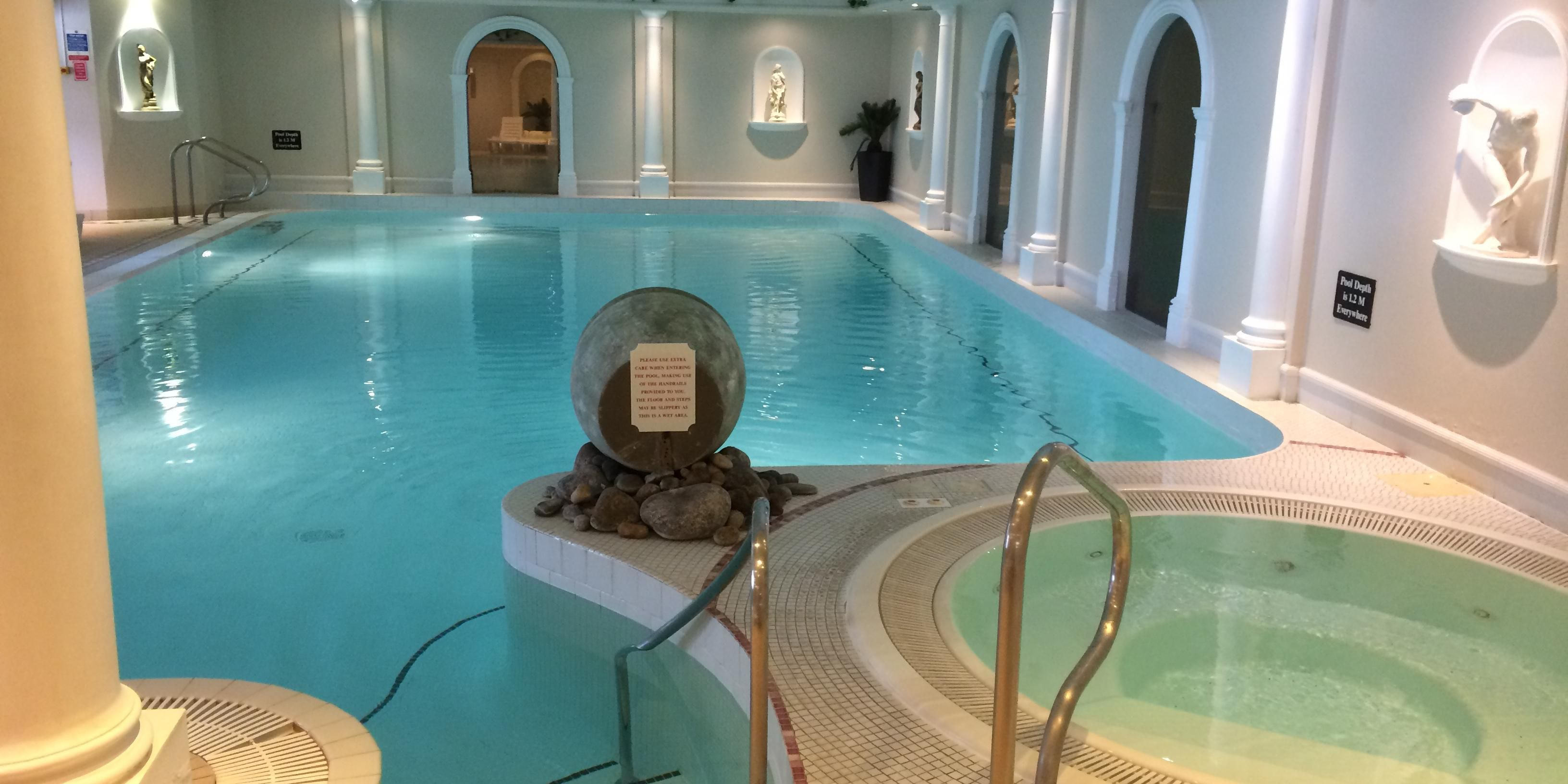 Our swimming pool is a perfect retreat for health and wellness