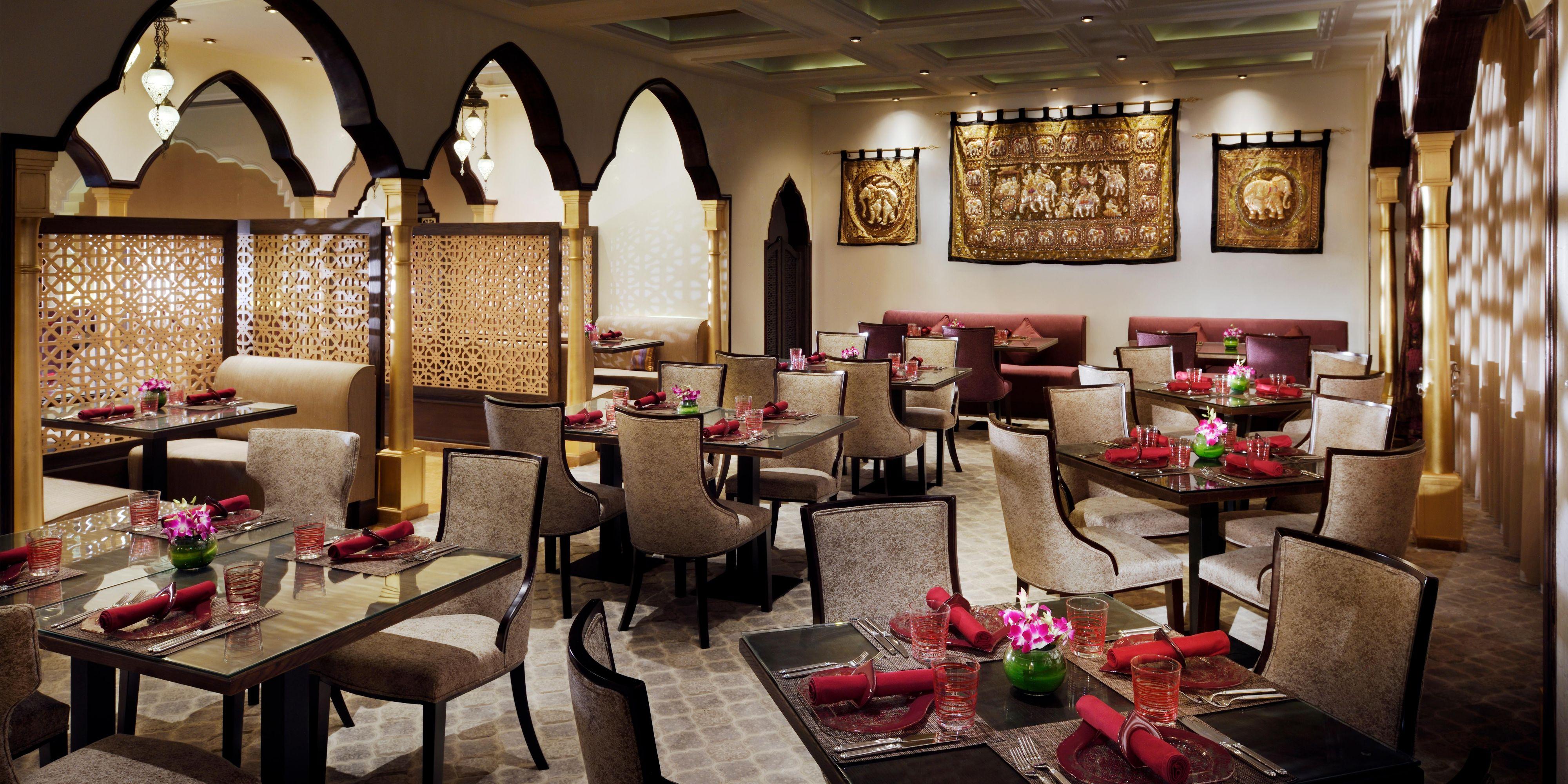 Anardana Indian Restaurant Table Setting and subtle taste of food