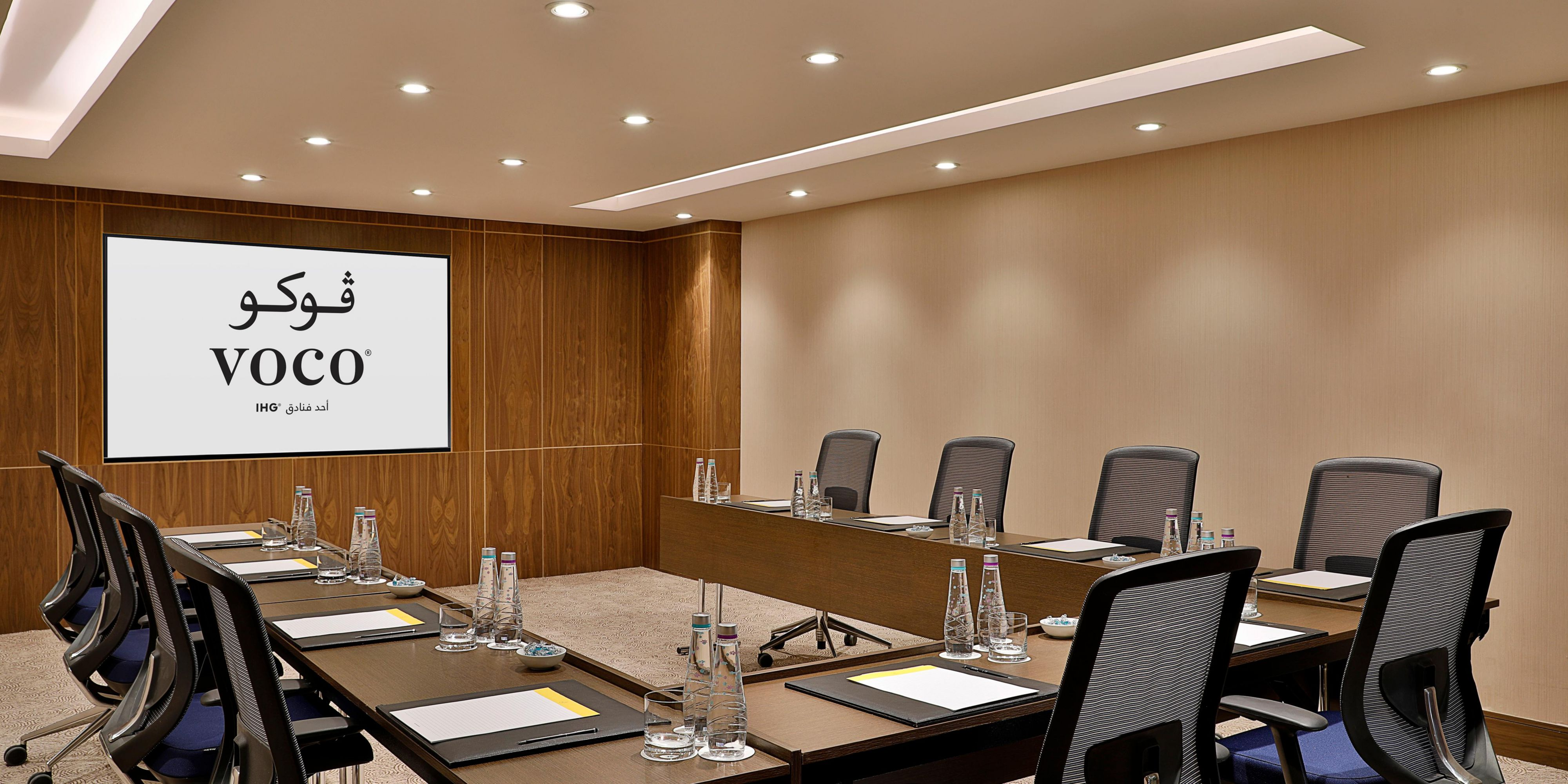 Perfect for Smart meetings. Take full control of this meeting room