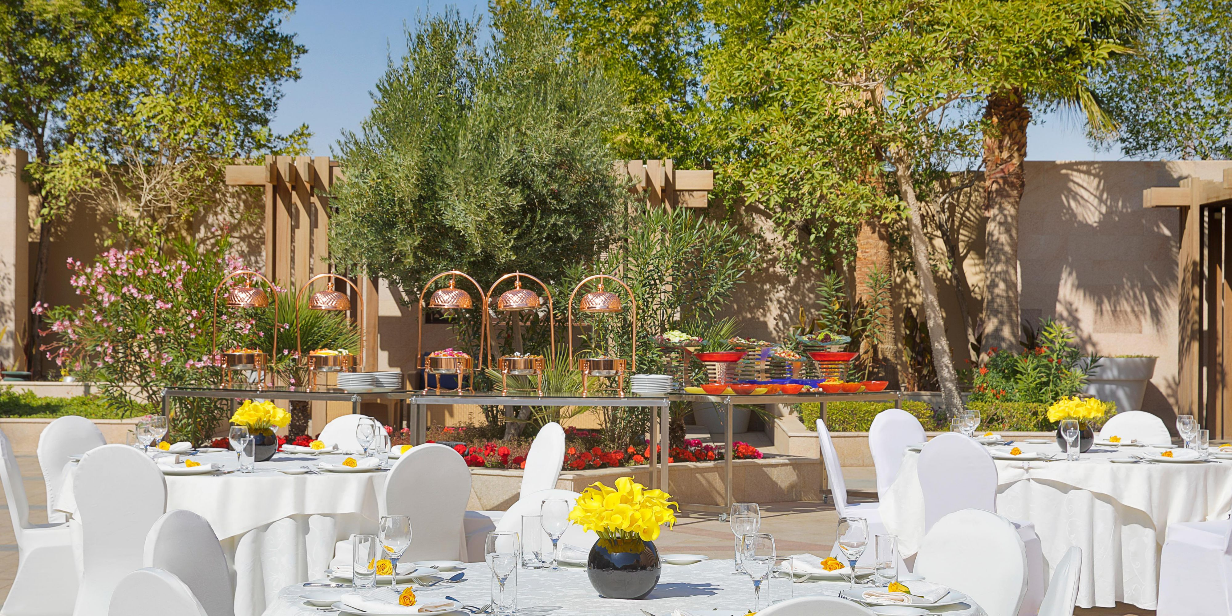 Outside Catering Setup Whether for wedding, private party or else
