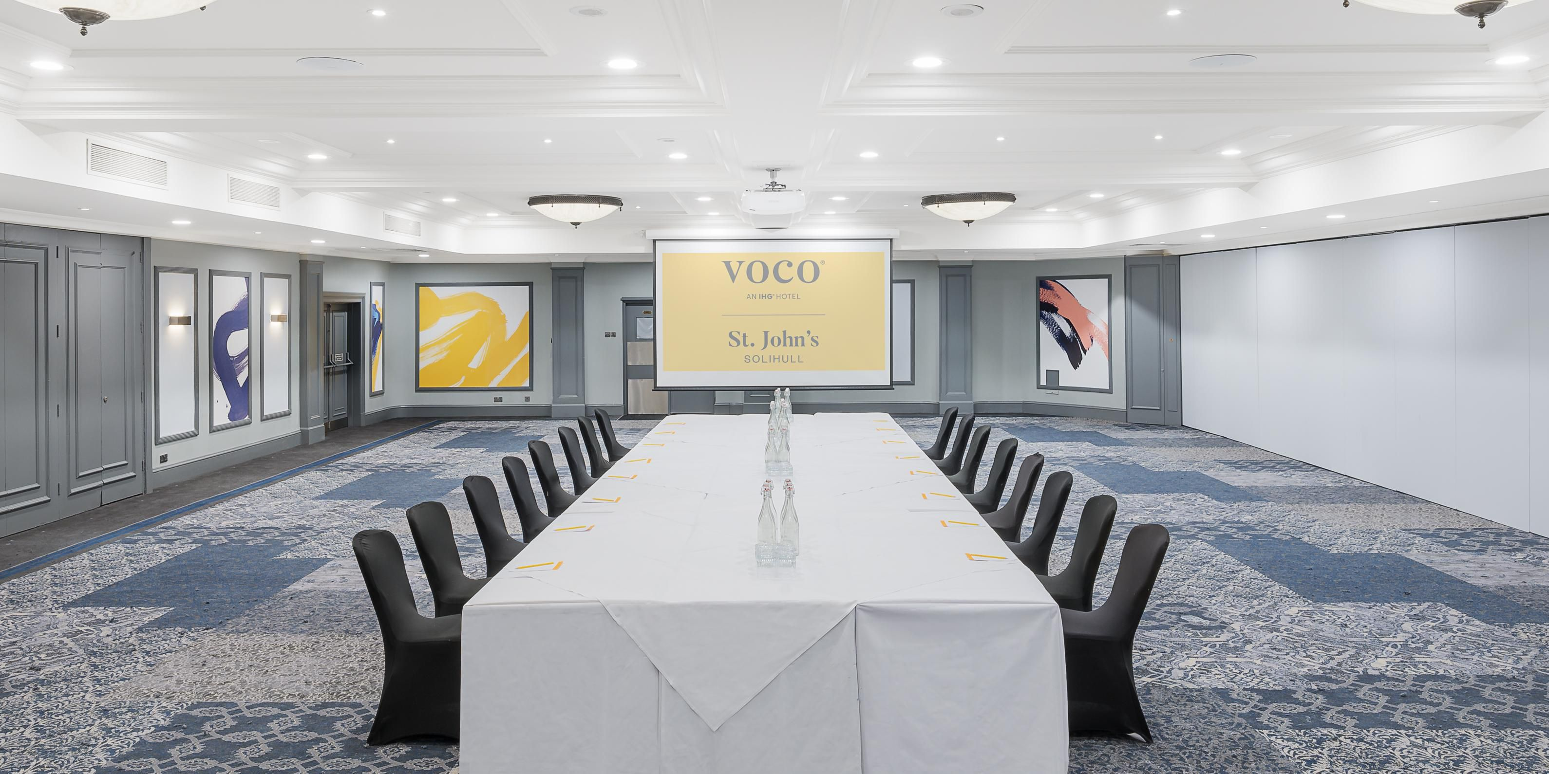 Our Malvern Suite has everything you need for your team meeting.