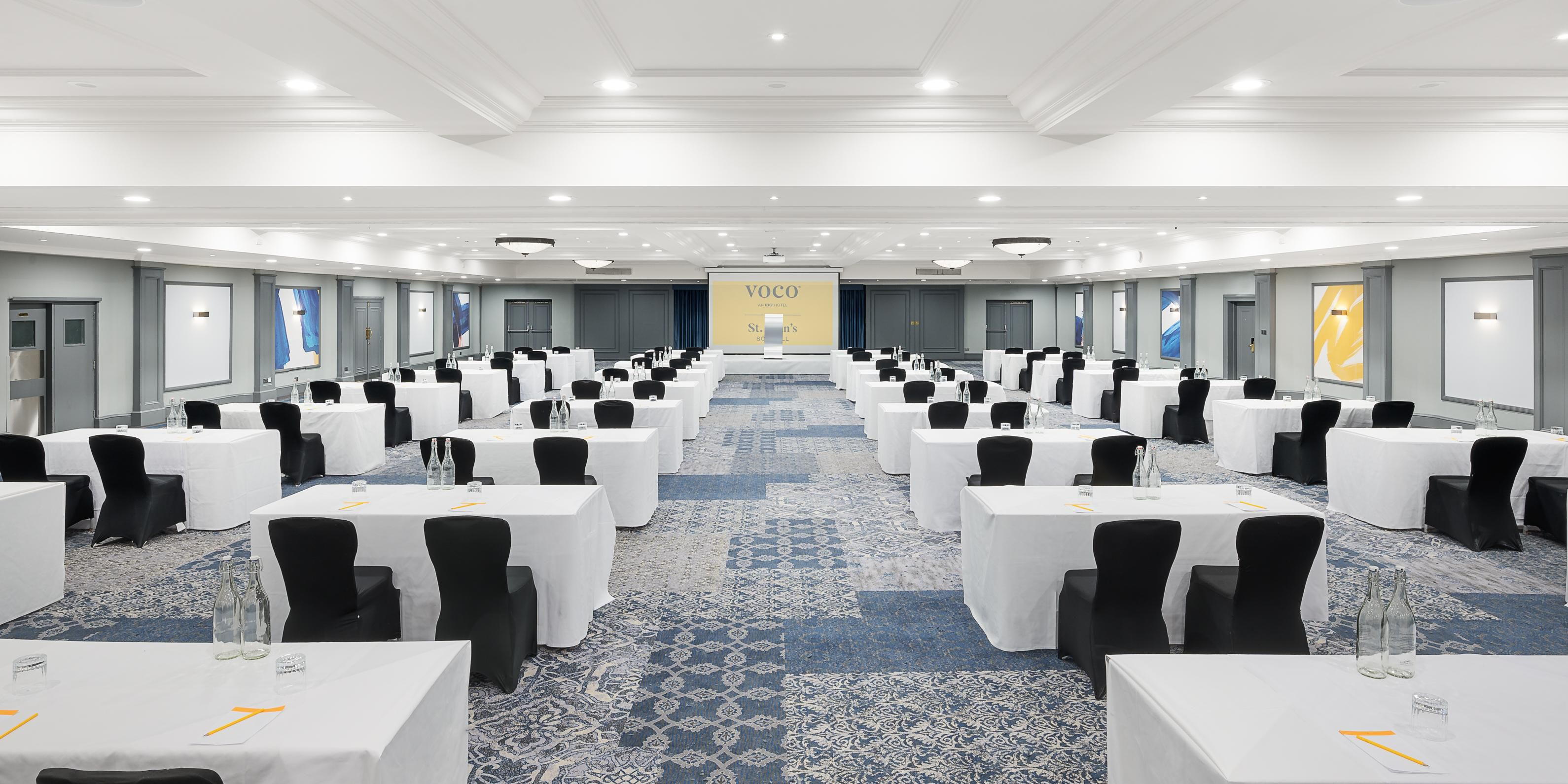 Park Suite is ideal for larger conferences, meetings and events.