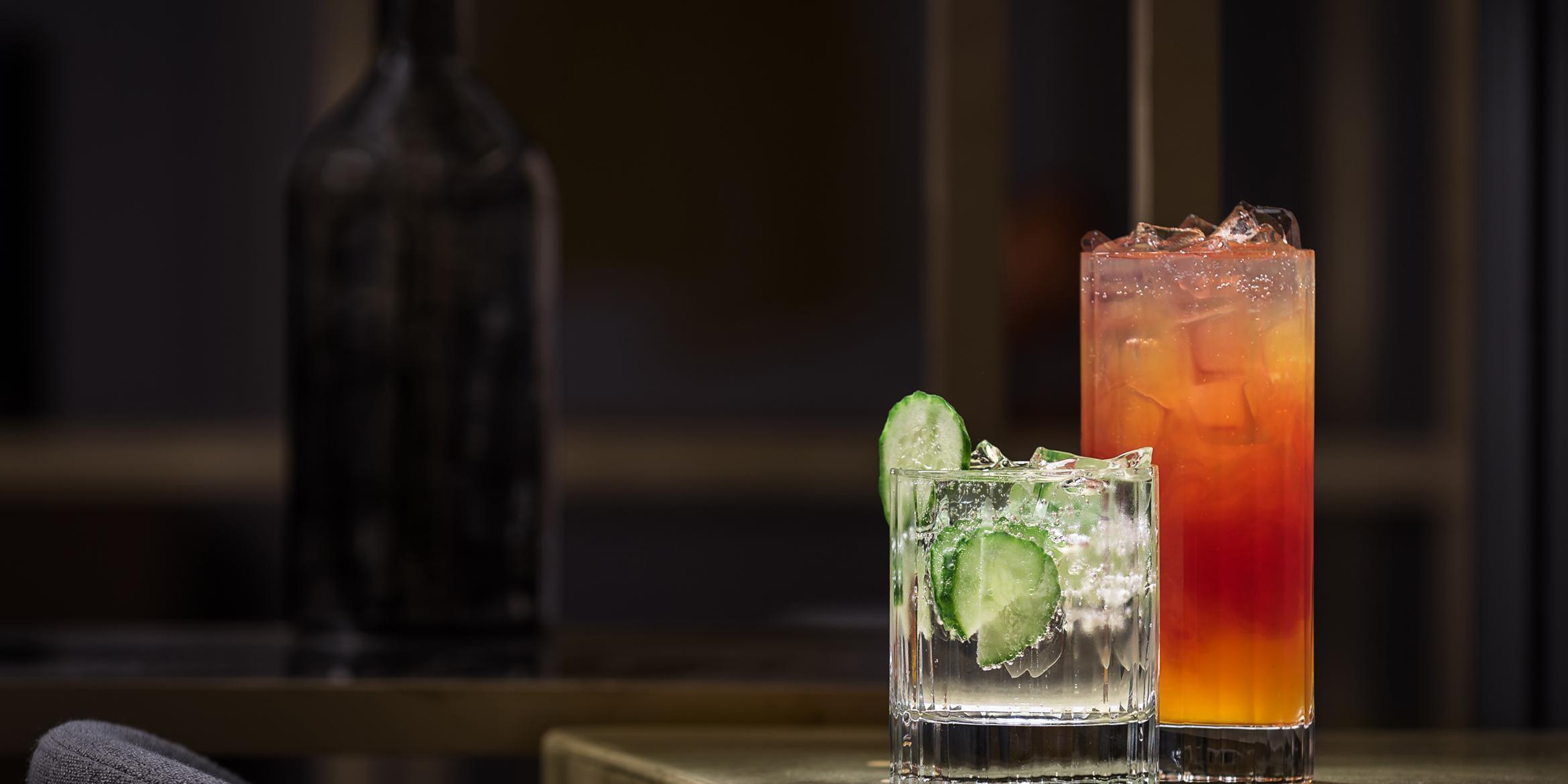 Enjoy happy hour or poolside cocktails at BLVD bistro.