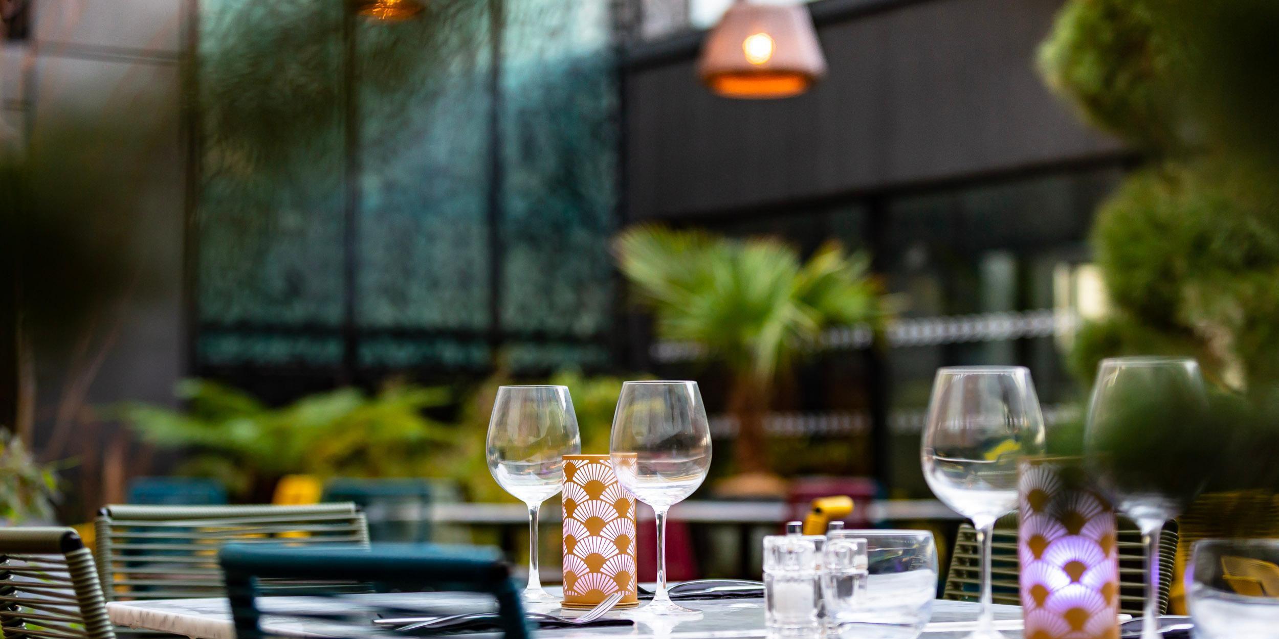 Restaurant The Garden - Terrace