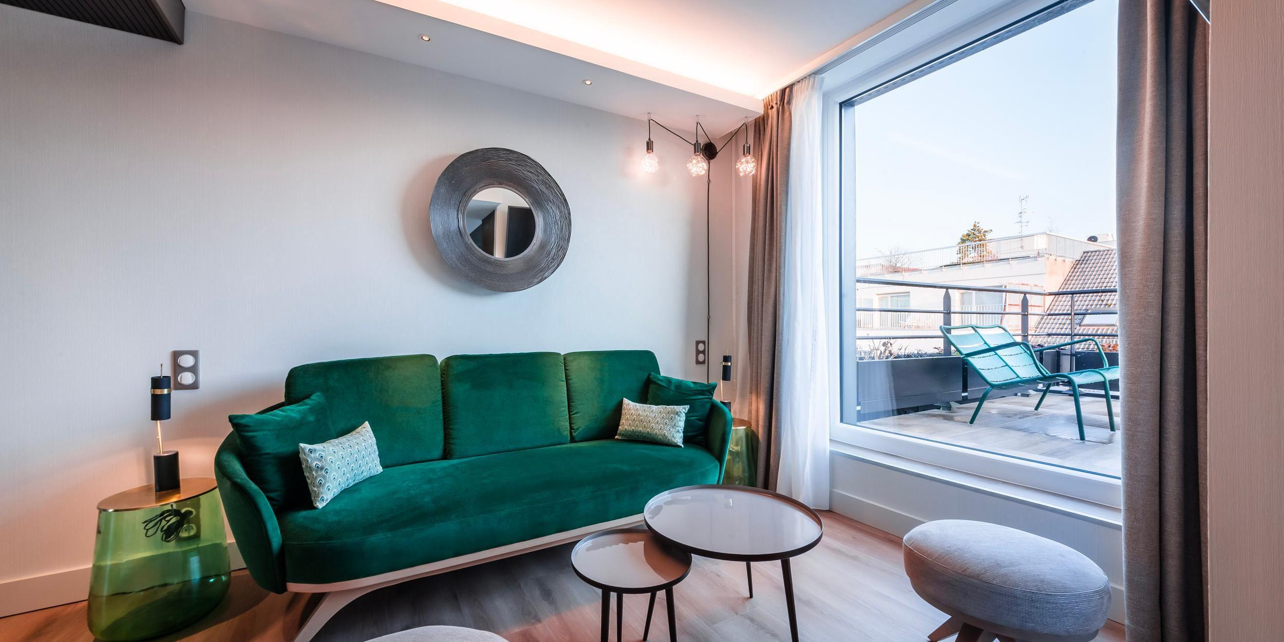 1 King bed Junior Suite - Living-room