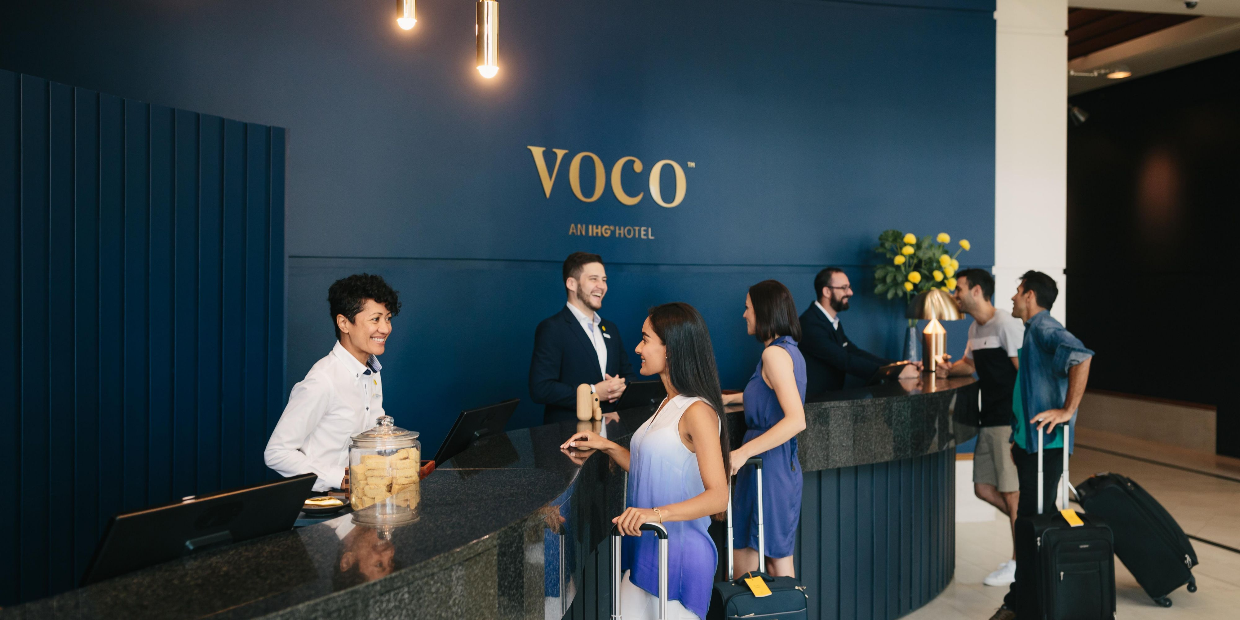 Check in to an experience at voco Gold Coast