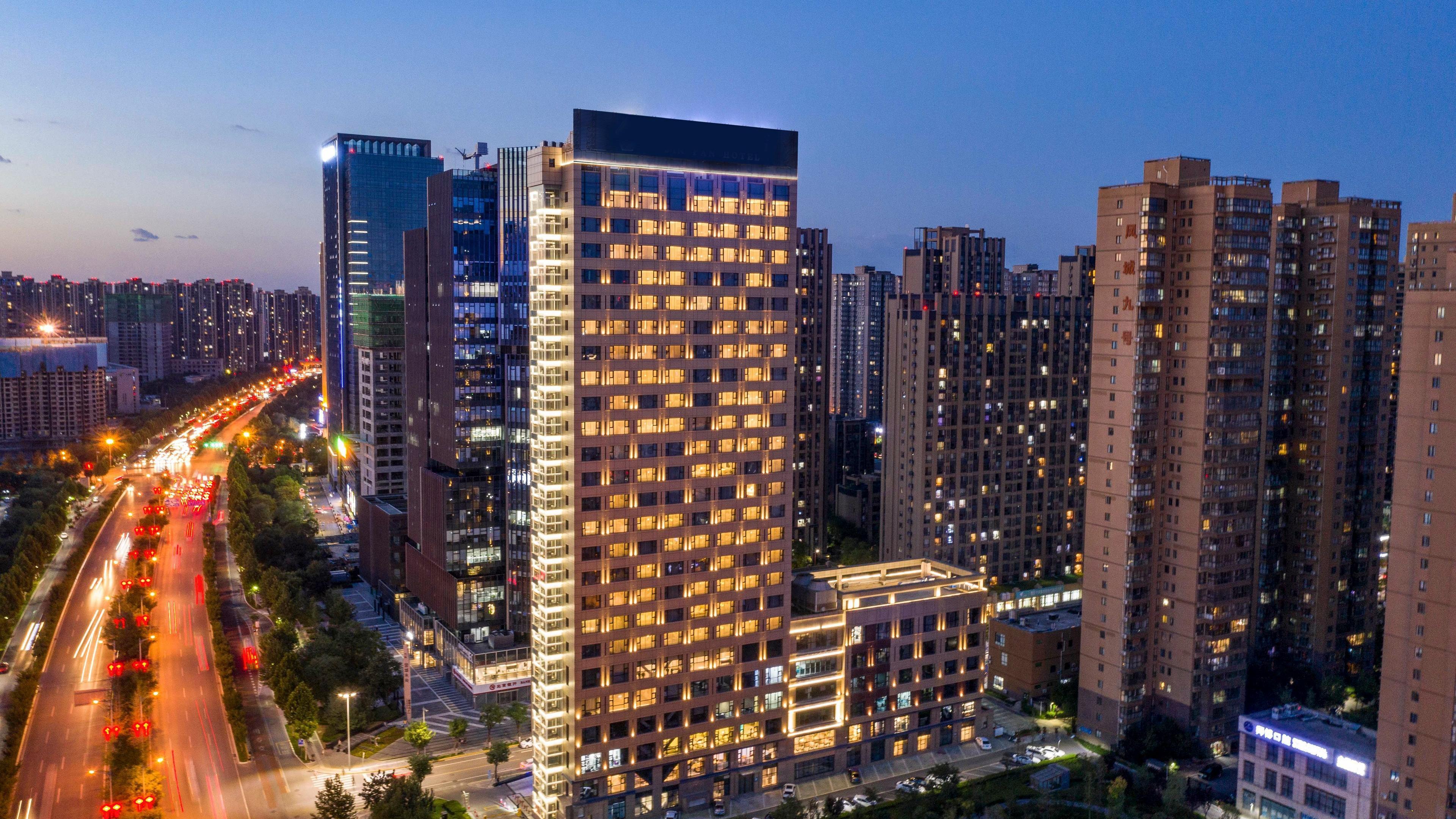 voco Xi'an ETDZ Hotel Exterior